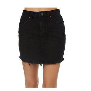 O'Neill Black Jasmine Denim Skirt